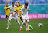 یورو 2020| صدرنشینی سوئد با شکست اسلواکی