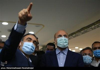 بازدید محمد باقر قالیباف ریاست مجلس شورای اسلامی از ستاد انتخابات