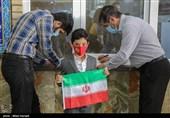 حماسه حضور در گرمای بالای 45 درجه/ گزارش تسنیم از مشارکت باشکوه مردم خوزستان در پای صندوق رای + فیلم