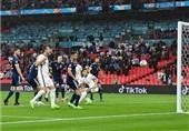 یورو 2020| تساوی انگلیس و اسکاتلند در پایان نیمه نخست