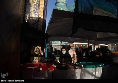 انتخابات 1400 در امام زاده صالح (ع)