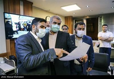 بازدید علی نیکزاد رئیس شورای ستادهای مردمی آیتالله رئیسی از خبرگزاری تسنیم