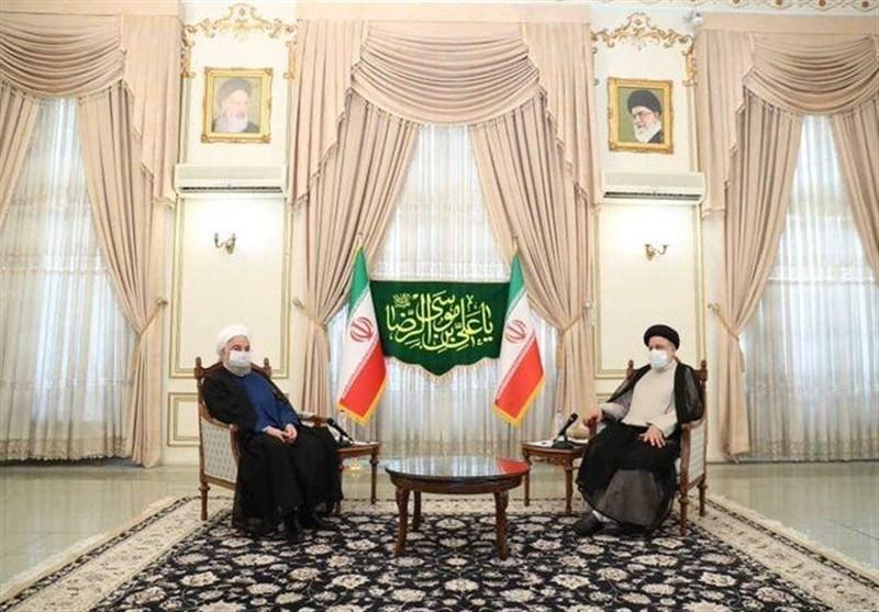 روحانی یلتقی رئیسی