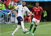 یورو 2020  برتری مجارستان مقابل فرانسه در نیمه اول