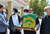 حضور کاروان زیر سایه خورشید در اراک/ خادمان امام رضا(ع) از مدافعان سلامت استان مرکزی تقدیر کردند