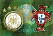 یورو 2020  مشخص شدن ترکیب پرتغال و آلمان