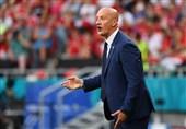 یورو 2020  روسی: به بازیکنانم افتخار میکنم/ مقابل فرانسه شجاعانه بازی کردیم