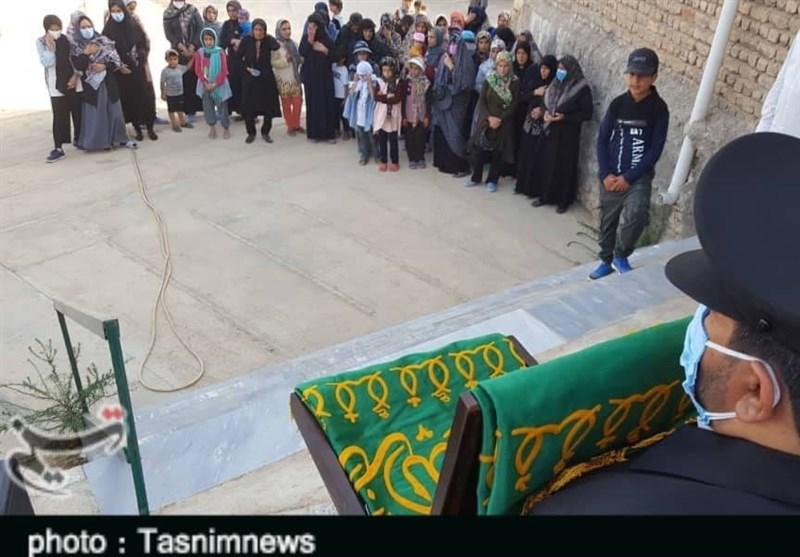 پرچم بارگاه ثامن الحجج(ع) به لرستان رسید؛ شمیم عطر رضوی در شهر پیچید+تصاویر