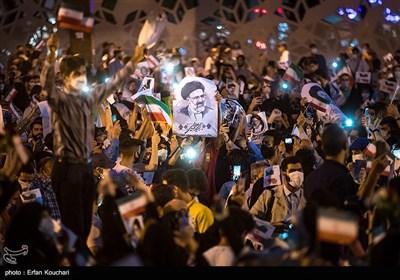 جشن پیروزی در امام حسین (ع)