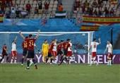 یورو 2020  پیروزی یک نیمهای اسپانیا برابر لهستان به کمک VAR