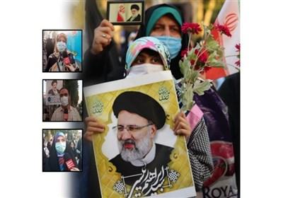 شادمانی مردم گیلان از پیروزی آیتالله رئیسی در انتخابات/ امید به بهبود وضعیت و آیندهای بهتر داریم + فیلم