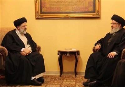 السید نصر الله یهنئ رئیسی بفوزه بالإنتخابات الرئاسیة