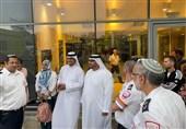 دواطلبان اماراتی به ستاره داود سرخ پیوستند+عکس