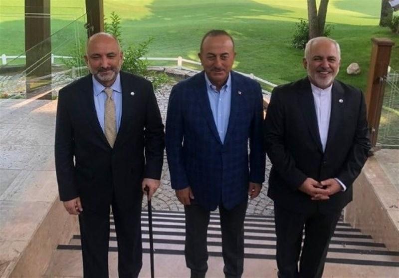Iranian, Turkish, Afghan FMs Meet in Antalya