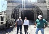 خلف وعده افتتاح طولانیترین تونل آزادراهی کشور/ پیشرفت فیزیکی تونل البرز 4 درصد آب رفت