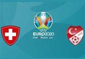 یورو 2020| مشخص شدن ترکیب سوئیس و ترکیه