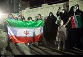 جشن پیروزی ابراهیم رئیسی در کرمانشاه
