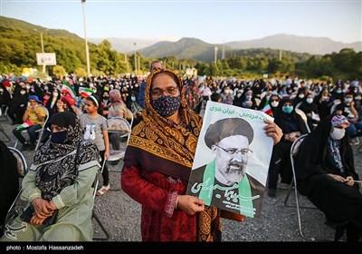 جشن پیروزی ابراهیم رئیسی در گرگان