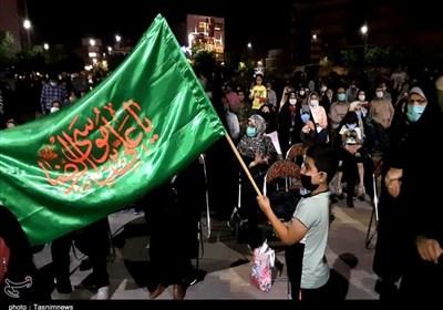 جشن شکرانه حضور مردم اراک در انتخابات به روایت تصویر