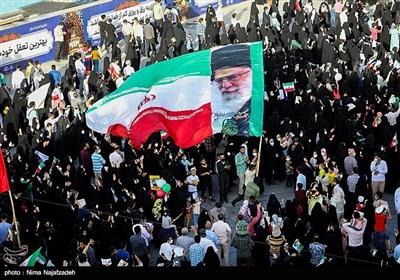 جشن پیروزی ابراهیم رئیسی در مشهد