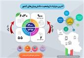 اینفوگراف// آخرین وضعیت شرکتهای دانشبنیان ایرانی