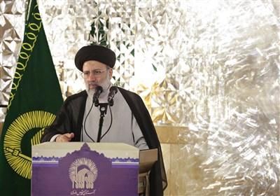 حرم مطهر رضوی میزبان رئیسجمهور منتخب مردم / سخنرانی آیت الله رئیسی در زائران و مجاوران 