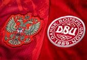 یورو 2020| ترکیب روسیه و دانمارک مشخص شد