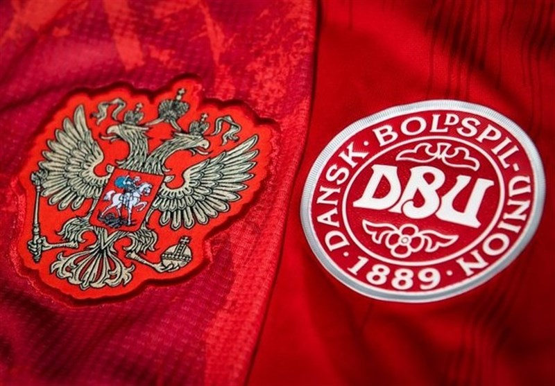 یورو 2020  ترکیب روسیه و دانمارک مشخص شد