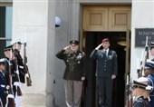 دیدار سران نظامی آمریکا و رژیم صهیونیستی در پنتاگون