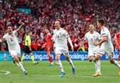 یورو 2020| برتری قاطعانه دانمارک مقابل روسیه در آمار