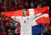 یورو2020| کریستینسن بهترین بازیکن دیدار دانمارک - روسیه