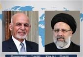 مباحثات هاتفیة بین الرئیس الأفغانی وآیة الله رئیسی