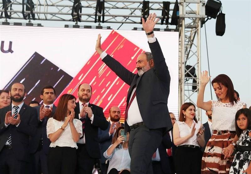 پاشینیان: بحران سیاسی داخلی در ارمنستان پایان یافته است