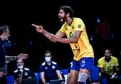 لیگ ملتهای والیبال| برزیل به نیمه نهایی رسید/ ایران همچنان در جایگاه یازدهم + جدول و نتایج