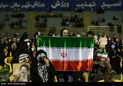 جشن پیروزی ابراهیم رئیسی در قزوین