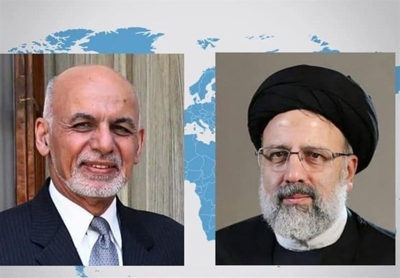 Afghan Leader Urges Closer Ties with Iran in Phone Call with Raeisi
