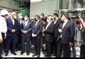 رئیس مجلس از شهرک دارویی برکت ساوجبلاغ بازدید کرد/ حضور در کارخانه تولید واکسن کووایران برکت + تصاویر
