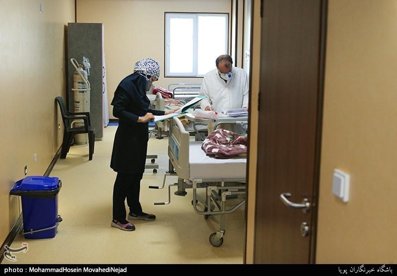 تصویر از آمار کرونا در ایران