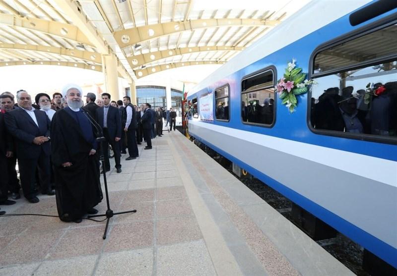 «میراث دولت روحانی برای رئیسی»|توسعه خطوط ریلی در دولت حسن روحانی نصف شد