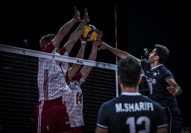 شکست تلخ والیبال ایران مقابل لهستان/ ایران رکورد ۳۰ ساله را شکست! + جدول و فیلم خلاصه بازی