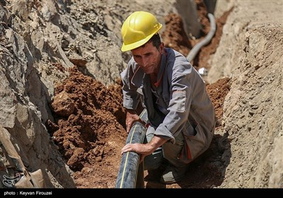 گازرسانی به روستاهای صعب العبور - سنندج