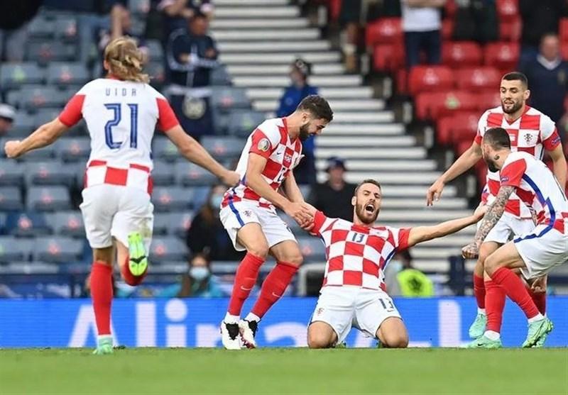 یورو 2020  ولاشیچ بهترین بازیکن مصاف کرواسی و اسکاتلند لقب گرفت