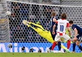 یورو 2020| تصاویر منتخب از برتری کرواسی مقابل اسکاتلند