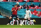 یورو 2020| ساکا بهترین بازیکن دیدار انگلیس - چک شد