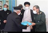 حضور کاروان زیر سایه خورشید در دبیرخانه کنگره شهدای زنجان به روایت تصویر