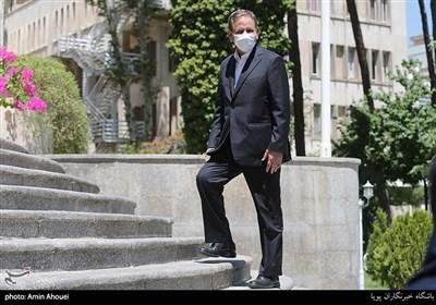 اسحاق جهانگیری معاون اول رئیس جمهور در حاشیه جلسه هیئت دولت