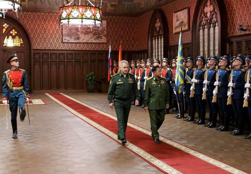 روسیه همچنان علاقمند به فروش تسلیحات به میانمار