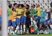 کوپا آمهریکا| برتری دراماتیک و صعود برزیل با گلزنی در دقیقه 100