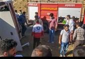 امداد جادهای هلالاحمر 50 دقیقه بعد از واژگونی اتوبوس خبرنگاران بدون تجهیزات به محل حادثه رسید!