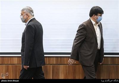 رضا صالحی امیری رئیس کمیته ملی المپیک در آئین افتتاح هفته ملی المپیک